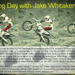Jake training day flyer